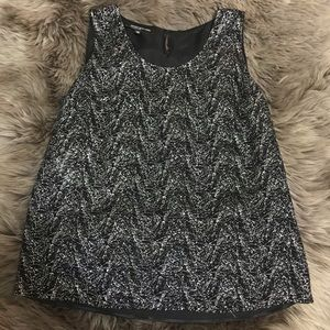 Jones NY Collection Sparkly Holiday Top, SZ 14